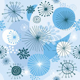 Snowflakes ornament Royalty Free Stock Photos