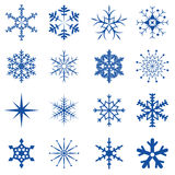 Snowflakes Part 1 Stock Images