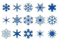 Snowflakes Part 2 Royalty Free Stock Images