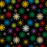 Snowflakes pattern Stock Image