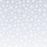 Snowflakes pattern Stock Photos