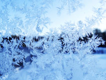 Snowflakes pattern as winter texture background Royalty Free Stock Photos