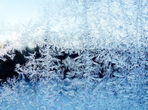 Snowflakes pattern as winter texture background Stock Images