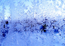 Snowflakes pattern as winter texture background Stock Photography