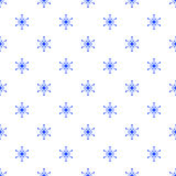 Snowflakes pattern Royalty Free Stock Image