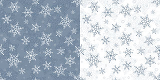Snowflakes pattern Stock Photo