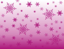 Snowflakes purple background Royalty Free Stock Photo