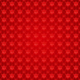 Snowflakes on red background Royalty Free Stock Photo
