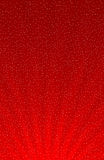 Snowflakes on red gradient Royalty Free Stock Image