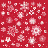 Snowflakes seamless Royalty Free Stock Photos