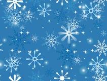 Snowflakes Seamless Stock Image