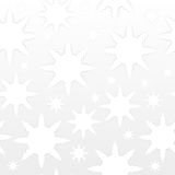 Snowflakes seamless. Abstract winter background Stock Photography
