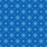 Snowflakes seamless background Stock Photography