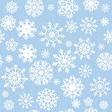 Snowflakes Seamless Background. Vector file Stock Images