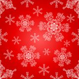 Snowflakes seamless pattern. Royalty Free Stock Photo