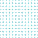 Snowflakes seamless pattern blue Royalty Free Stock Images