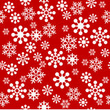 Snowflakes seamless pattern Royalty Free Stock Image