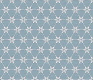 Snowflakes seamless pattern. EPS 10 Royalty Free Stock Photos