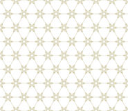 Snowflakes seamless pattern. EPS 10 Royalty Free Stock Photo