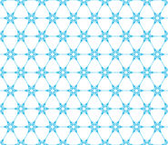 Snowflakes seamless pattern. EPS 10 Stock Photo