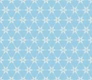 Snowflakes seamless pattern. EPS 10 Stock Photography
