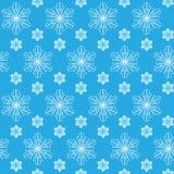 Snowflakes seamless pattern Stock Photo