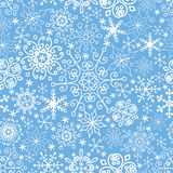 Snowflakes seamless pattern,lace.Winter,Christmas Royalty Free Stock Photos