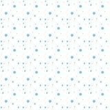 Snowflakes seamless pattern. Snow falls background. Vector illustration. Royalty Free Stock Photo