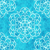 Snowflakes seamless pattern Royalty Free Stock Photo