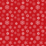 Snowflakes seamless pattern vector illustration Stock Photography