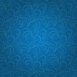 Snowflakes seamless pattern vector illustration Royalty Free Stock Photos