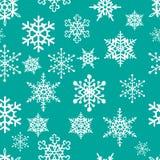 Snowflakes seamless pattern Stock Image