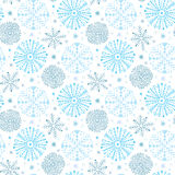 Snowflakes seamless pattern. Winter background decoration. Christmas and New Year design wrapping paper design. Snowflakes seamless pattern. Winter background vector illustration