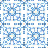 Snowflakes seamless pattern for Royalty Free Stock Photography