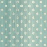 Snowflakes seamless polka dot pattern Stock Image