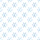Snowflakes. Seamless snowflake pattern on white background Stock Image