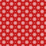 Snowflakes seamlessly pattern. Royalty Free Stock Photo