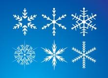 Snowflakes set Stock Image