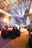 Snowflakes show party Stock Photo