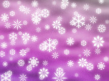 Snowflakes in the sky Stock Photos