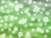 Snowflakes in the sky Stock Image