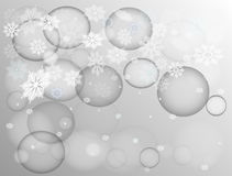 Snowflakes. Royalty Free Stock Photo