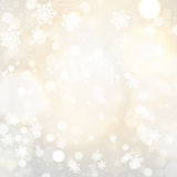 Snowflakes and stars Royalty Free Stock Images