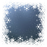 Snowflakes and stars Royalty Free Stock Photo