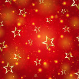 Snowflakes and stars Royalty Free Stock Image