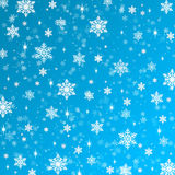 Snowflakes texture, raster. Christmas and New Year Royalty Free Stock Images