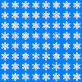 Snowflakes texture for wrapping paper Royalty Free Stock Images