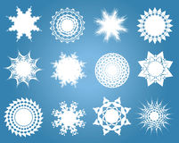 Snowflakes. Royalty Free Stock Photography
