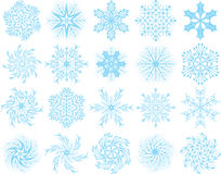 Snowflakes, vector Stock Images