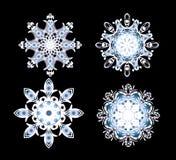 Snowflakes vector Stock Image